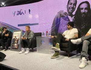 Backstreet Boys sorprenden en conferencia cantando clásico de Daddy Yankee