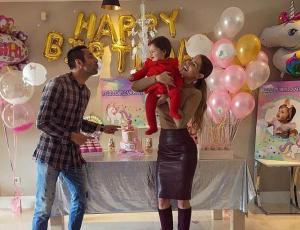 La increíble torta de cumpleaños de la hija de Gala y Mauricio Isla