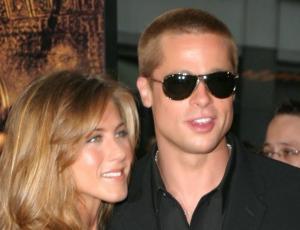 Brad Pitt y Jennifer Aniston unidos por Navidad