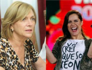 Así reaccionó Evelyn Matthei al ser incluida en rutina de Natalia Valdebenito