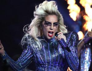 Lady Gaga se cayó del escenario mientras estaba en brazos de un fan