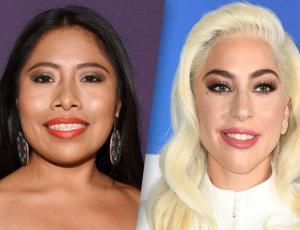 Así fue el esperado encuentro de Lady Gaga y Yalitza Aparicio