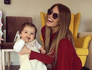 ¡Son iguales! Gala Caldirola publica foto de su hija Luz en la que se ven idénticas