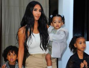 Kim Kardashian bautizó a tres de sus hijos en Armenia