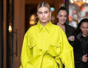 Hailey Baldwin derrocha estilo en París