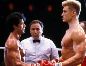 Rocky e Iván Drago vuelven a verse las caras a 32 años de su pelea y así lucen