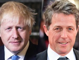"Boris Johnson parodia ""Love, actually"" para defender el Brexit y enfurece a Hugh Grant"
