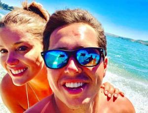 Las fotos del viaje de Karol Lucero y Cata Vallejos a la playa
