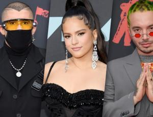 Fuerza latina: Rosalía, J Balvin, Bad Bunny y Ozuna cantaron los premios MTV 2019