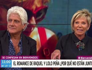 """Así fue el reencuentro entre Raquel Argandoña y """"Lolo"""" Peña"""