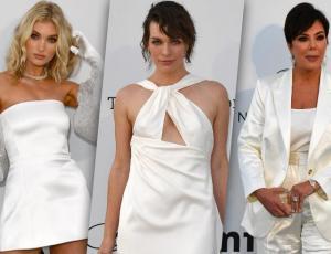 Todos los looks de las celebridades en la gala benéfica de amfAR