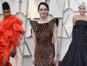 Estos son los looks más llamativos de los Oscar