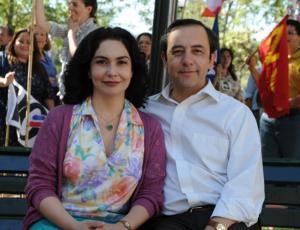 """De vuelta a """"Los 80"""": el nostálgico diálogo entre Daniel Muñoz y Tamara Acosta en Instagram"""
