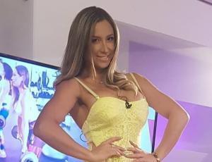 """Nicole Moreno impacta con su """"indestructible"""" abdomen marcado"""