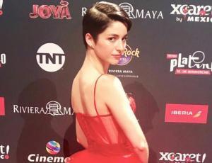 Actrices chilenas deslumbran con sus looks en los Premios Platinos 2019