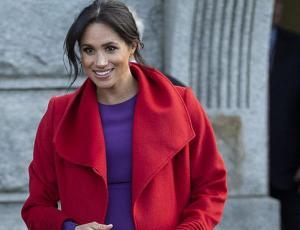 El bien pensado tributo de Meghan Markle a Lady D con colorida combinación de ropa