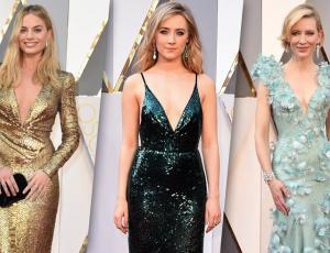 Los 5 mejores looks en la alfombra roja de los premios Oscar