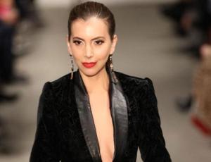 Nataly Chilet es la primera chilena en desfilar en Nueva York para la Semana de la Moda