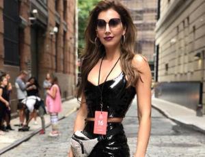 Nataly Chilet le mandó un mensaje a Vale Ortega por usar su mismo look