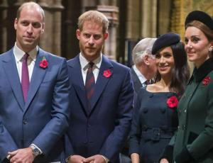¿Por qué Kate y William no serán los padrinos del hijo de Meghan y Harry?