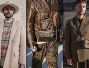 Las tendencias de la calle en la semana de la moda masculina de París