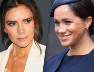 Victoria Beckham y Meghan Markle utilizaron vestidos casi idénticos