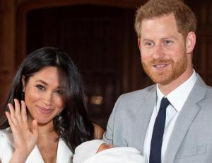 Meghan y Harry revelan el nombre de su primer hijo
