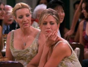 El tremendo error de Friends con el embarazo de Rachel y que de seguro no notaste