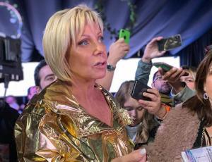 ¡Raquel Argandoña apareció en la conferencia de prensa de Jani Dueñas y esto fue lo qué pasó!
