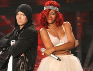 Se filtra antigua letra de Eminem apoyando a Chris Brown y destruyendo a Rihanna