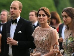 El operativo que separó en evento a Kate Middleton de supuesta amante del príncipe William