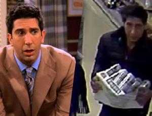 """La policía inglesa busca a un hombre igual a """"Ross"""" de """"Friends"""""""