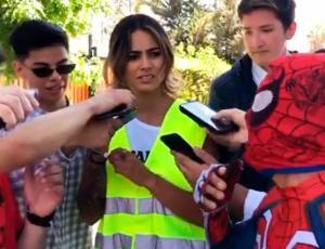 Sensual Spiderman y Camila Recabarren sorprenden imitando a Evelyn Matthei