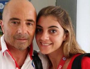 Sabrina Sampaoli, la guapísima hija del DT de la selección