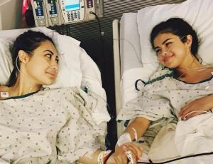 Selena Gomez no habla con su amiga que le donó un riñón hace nueve meses