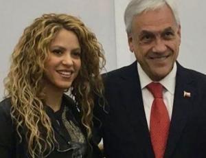 Presidente Sebastián Piñera disfrutó del concierto de Shakira junto a sus nietas