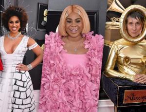 Los vestidos más raros de los Grammy Awards 2019