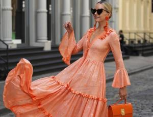 ¡Estos son los vestidos largos que se llevan!