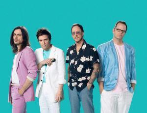 Weezer agenda su primer concierto en Chile
