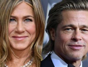 Jennifer Aniston y Brad Pitt fueron a la misma fiesta post Globos de Oro