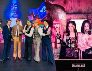 "BTS y BLACKPINK  fueron premiados  en los ""Video Music Awards"" de MTV"