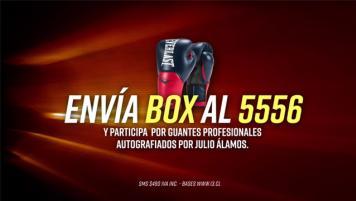 Concurso SMS - Participa por guantes autografiados por Julio Álamos!