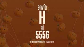 """Concurso SMS """"Halloween"""""""