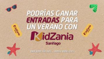 """Concurso SMS """"Kidzania"""""""