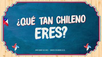 Concurso SMS - ¡Qué tan chileno eres?