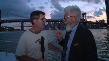 Marcelo y Federico navegaron por el Hudson River