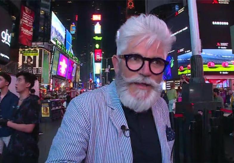 Conoce el famoso Times Square