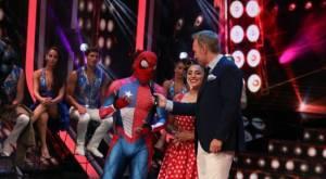 Sensual Spiderman, Martín Cárcamo y Xiomara Herrera