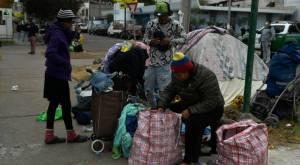 Migrantes relatan cómo fue quema de sus pertenencias en Iquique