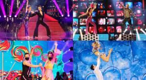 Los bailes de la cuarta noche de onda disco en Bailando por un sueño